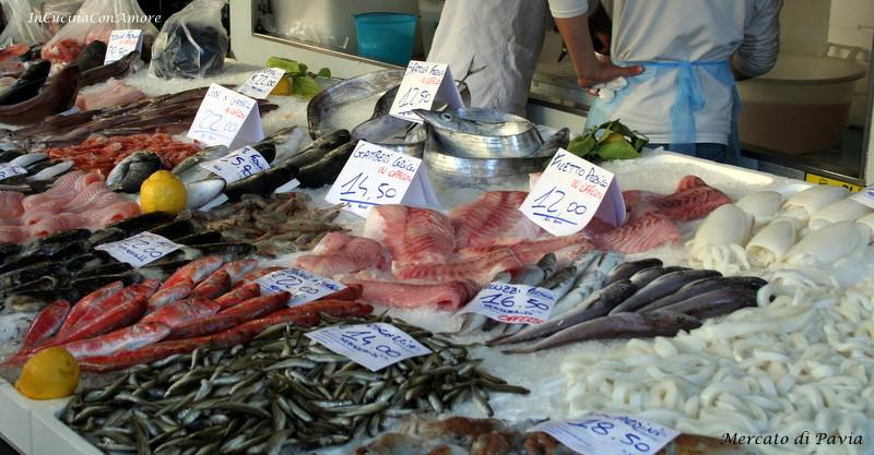 pescheria mercato Pavia