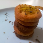 biscotti con granella pistacchio